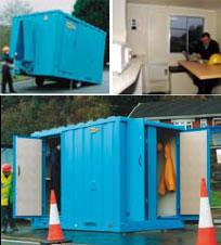Mobile Secure Welfare Unit - view bigger image