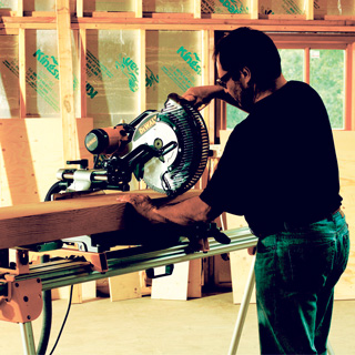 Double Bevel Mitre Saw - view bigger image