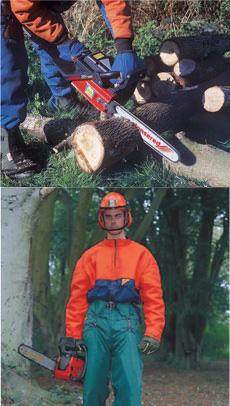 Chainsaws and Safety Kit - view bigger image