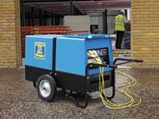 10kVA Silenced Diesel Generator - view bigger image