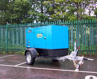 40kVA Silenced Diesel Generator - view bigger image