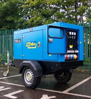 20kVA Silenced Diesel Generator - view bigger image