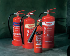 Standard Fire Extinguishers - view bigger image