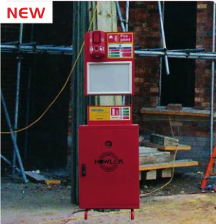 RF Fire Point Trolley & Extinguisher System - view bigger image