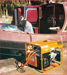 150amp Petrol Welder Generator - view bigger image