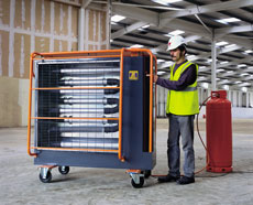 LPG Radiant Heater - view bigger image