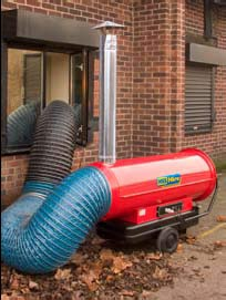 72kW Indirect Oil Fired Heater - view bigger image