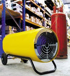 LPG Blower Heaters - view bigger image