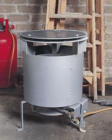 LPG Site Heater - view bigger image