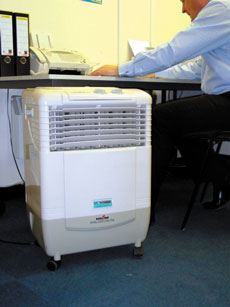 Small Evaporative Cooler - view bigger image