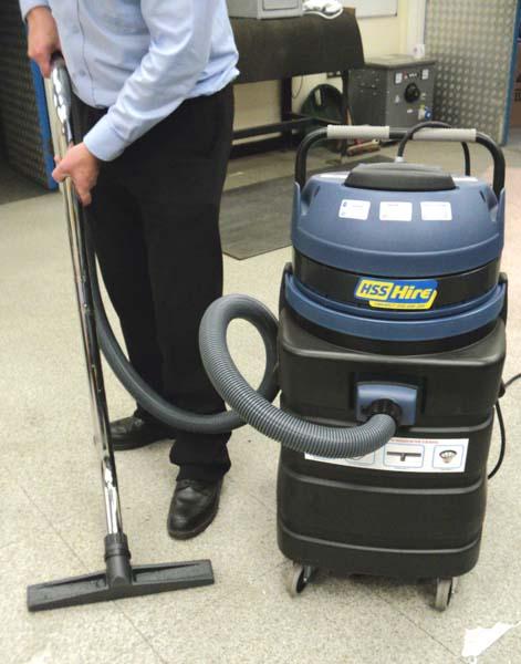 Industrial Wet & Dry Vacuum - view bigger image