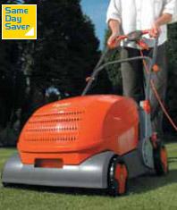 Electric Lawn Raker - view bigger image