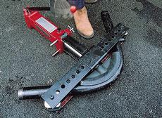 Steel Pipe Benders - view bigger image