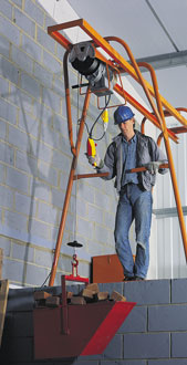 Builders Gantry Hoist - view bigger image
