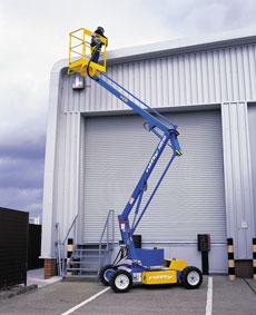 10m Electric Boom Lift - view bigger image