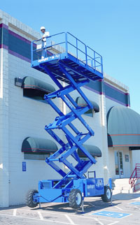 Specialist Electric Scissor Lifts - view bigger image