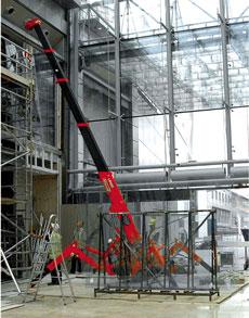 Mini Crawler Crane - view bigger image