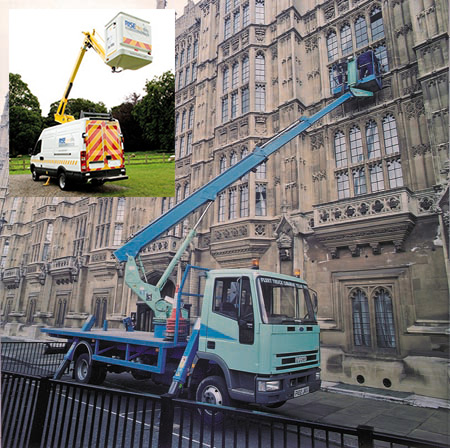 Operated Lorry & Van Mounts - view bigger image