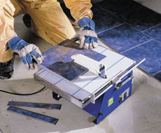 Bench Tile Saws - view bigger image