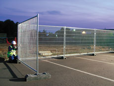 Mesh Fence - view bigger image
