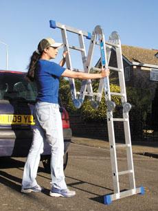 Multi Purpose Ladder - view bigger image