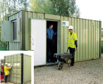 Anti Vandal Steel Buildings