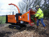 Tracked & Towable Chippers