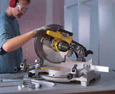 Alloy-Cutting Mitre-Saw