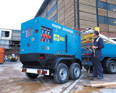 60kVA Super Silenced Diesel Generator