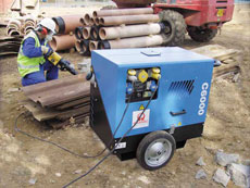 6kVA Silenced Diesel Generator