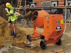 Bulk Concrete Mixer
