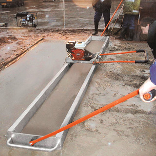 Beam Screed