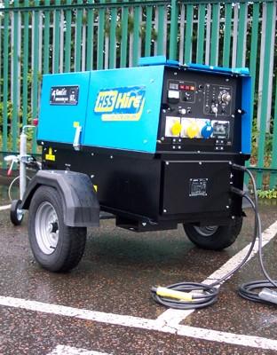 300amp Super Silenced Welder Generator