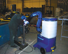 Fume Extractor Cart
