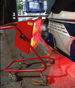 Swivel Infra-Red Heaters