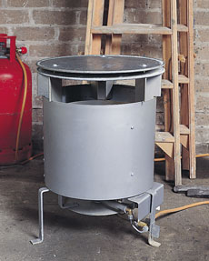 LPG Site Heater