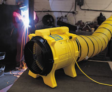 Fume Extractor & Ducting