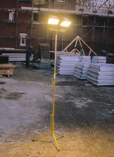 Telescopic Floodlights
