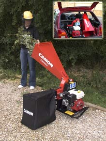 Portable Chipper / Shredder