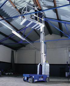 Self-Propelled Vertical Mast