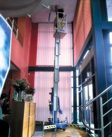 Push Around Vertical Mast