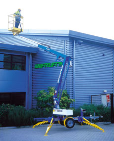 12m Electric/Bi-Energy Boom & Trailer Mounted Lifts