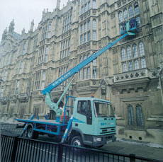 Lorry Mounted Platforms (operated)