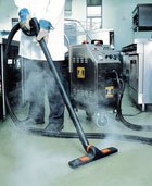 Contractors Vacuum Steam Cleaner